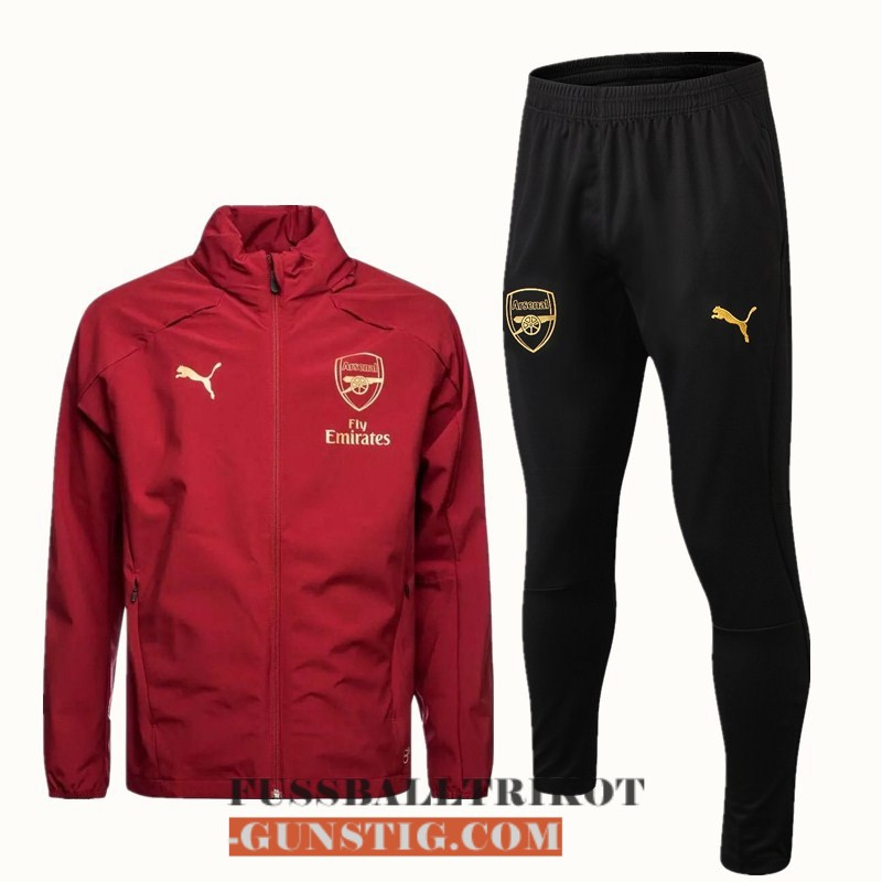 2018-2019 windbreaker rot B fc arsenal