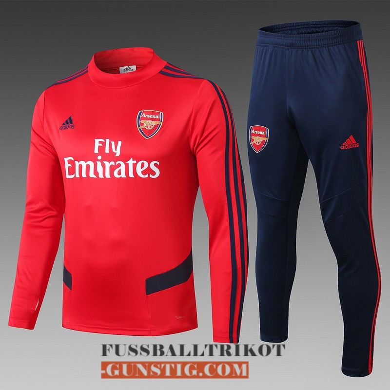 2019-2020 trainingsanzug fc arsenal hoher kragen rot