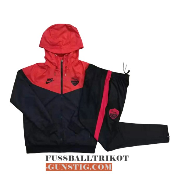 2019-2020 windbreaker schwarz rot as rom
