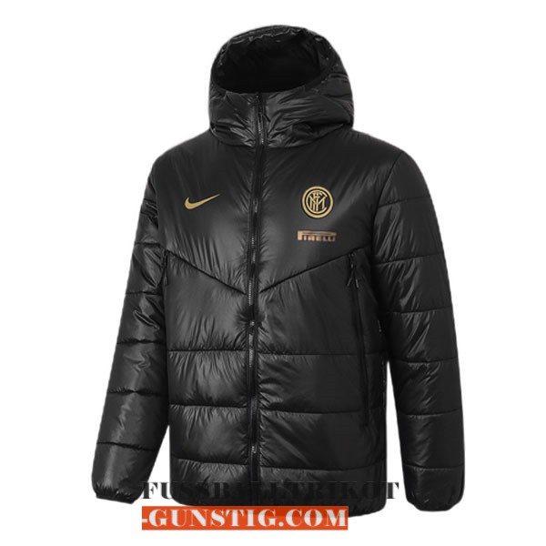 2020-2021 schwarz inter miland winter jacket
