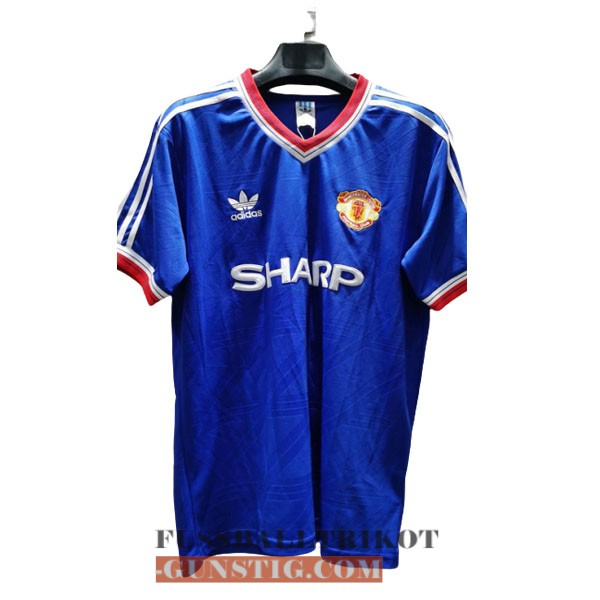 trikot 1986-1988 manchester united retro alternativ