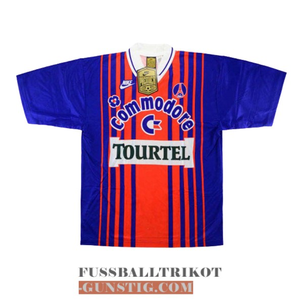 trikot 1993-1994 paris saint-germain retro heim