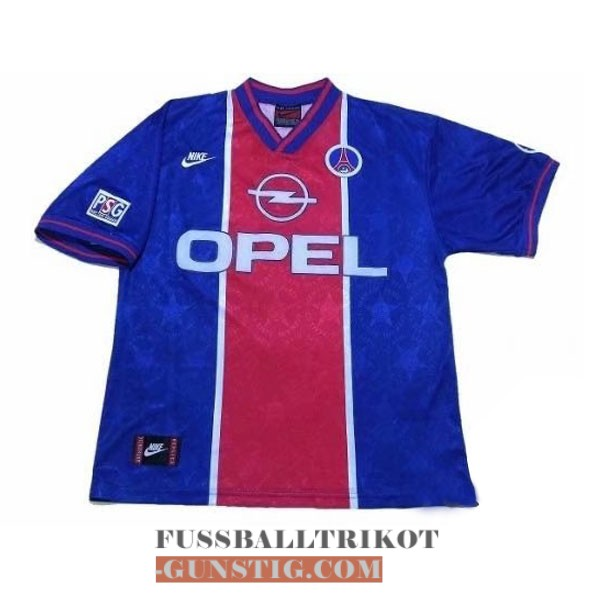 trikot 1995-1996 paris saint-germain retro heim