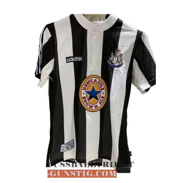 trikot 1995-1997 newcastle united retro heim