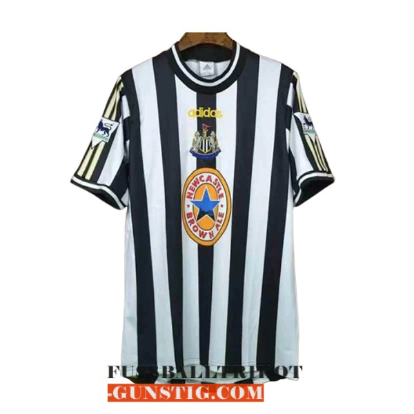 trikot 1997-1999 newcastle united retro heim
