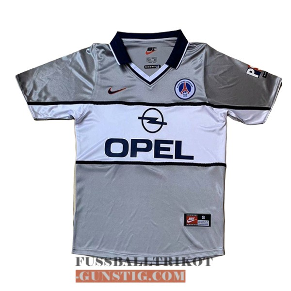 trikot 2000-2001 paris saint-germain retro auswarts