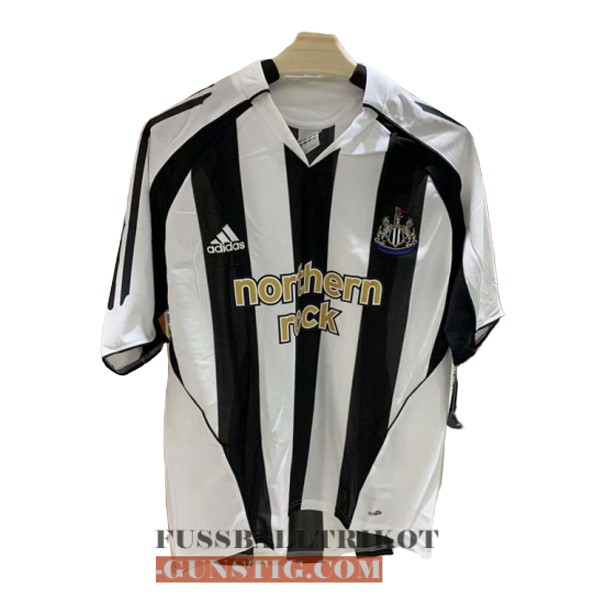 trikot 2005-2007 newcastle united retro heim