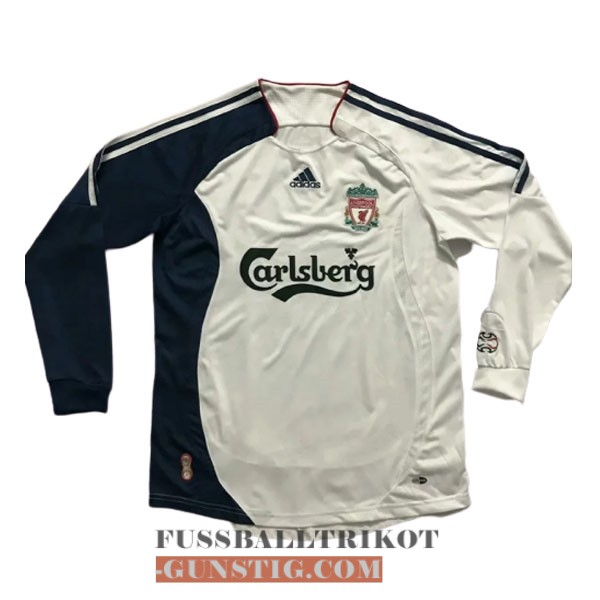 trikot 2006-2007 lange armel retro fc liverpool alternativ