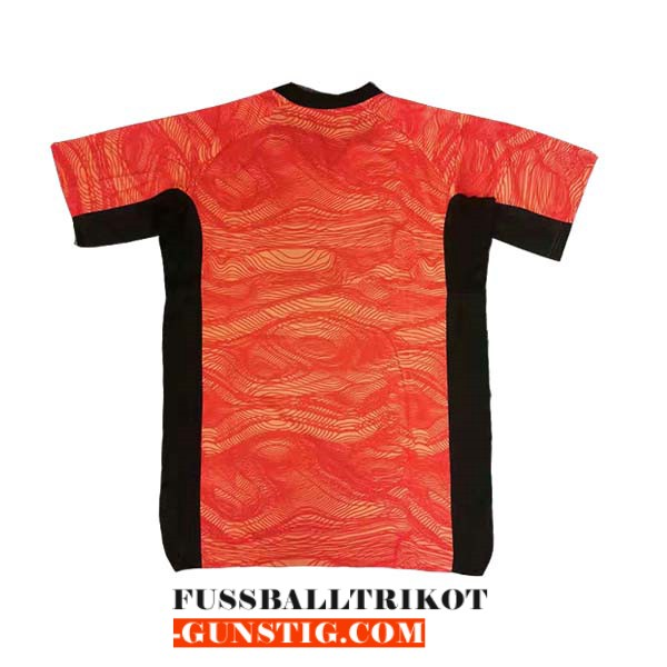 trikot manchester united 2021-2022 schulung orange schwarz