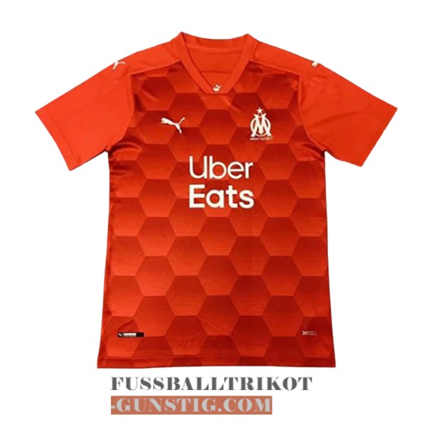 trikot olympique marseille orange torwart 2020-2021