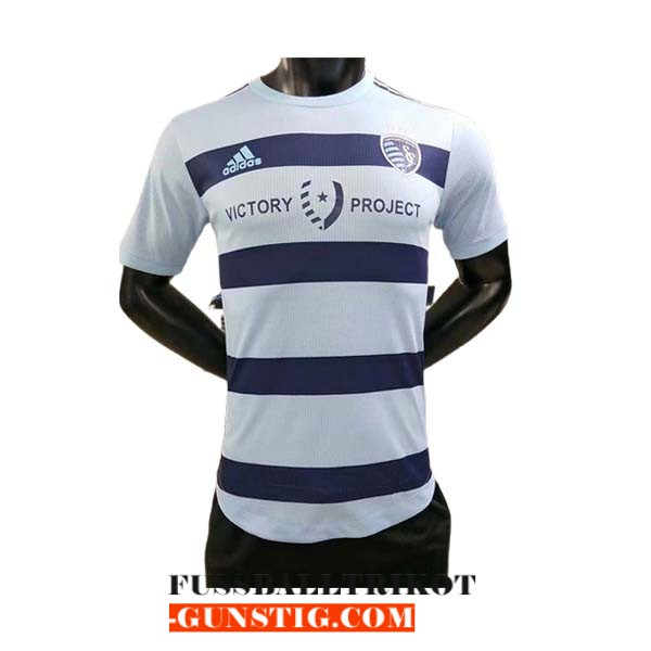 trikot sporting kansas city 2021-2022 heim player version